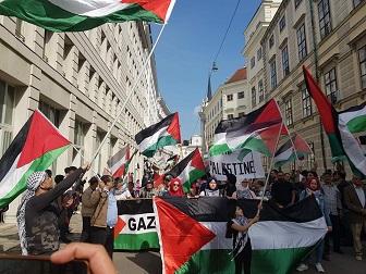 فلسطينيو سورية في النمسا يشاركون في إحياء الذكرى السبعين لنكبة فلسطين