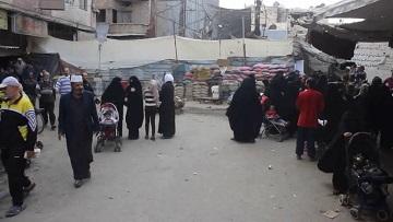 النازحون من مخيّم اليرموك الى يلدا بلا مأوى ونداءات لإغاثتهم