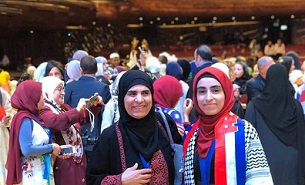 فلسطينية سورية الأولى في هولندا بتحدي القراءة ومن الأربعة الأوائل في دبي