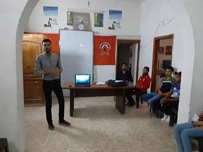ورشة عمل شبابية حوارية تحت عنوان