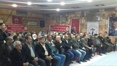 «الديمقراطية» تنظم حفل استقبال بمخيم جرمانا بمناسبة ( اليوبيل الذهبي) لانطلاقنها