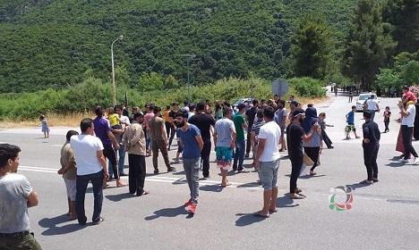 ثيرموبوليس: 18 عائلة فلسطينية سورية وسط اليونان يناشدون إيقاف تدهور أوضاعهم الإنسانية