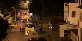 اصابة جنود من جيش الاحتلال اشتباكات مسلحة في نابلس