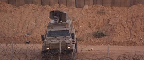 إطلاق النار من جنود الاحتلال تجاه الأراضي الزراعية شرق خانيونس
