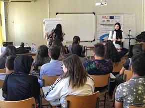 جلسات توعية لطلاب ثانوية الجليل حول آفة تعاطي المخدرات