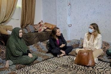 وفد سويدي رفيع المستوى يزور مُخيّم سوف بالأردن للاطلاع على أوضاع اللاجئين