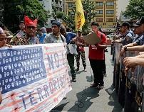 احتجاجات في الفلبين تضامناً مع غزة ورفضاً لنقل السفارة الأمريكية للقدس