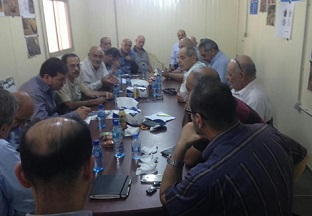 الفصائل تجتمع مع مدير عام الأونروا في لبنان في