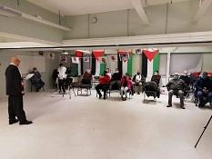 ندوة تضامنية مع الأسير الفلسطيني ماهر الأخرس في النرويج