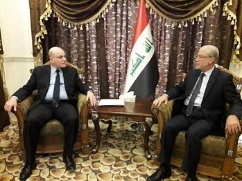 واصل زيارته الرسمية إلى العراق وفد «الديمقراطية» يلتقي نائب رئيس مجلس النواب