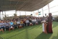 اشد والتجمع الديمقراطي للعاملين في الانروا يكرمان الطلاب الفلسطينين في البرج الشمالي