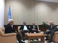 الديمقراطية تلتقي مدير الاونروا وتبحث معه اوضاع اللاجئين الفلسطينيين الحياتية في لبنان