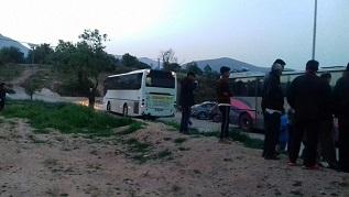 150 لاجئاً فلسطينياً وسورياً يناشدون السلطات اليونانية في جزيرة