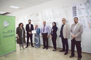 طلاب من جامعة القدس يفوزون بمسابقةٍ هندسية على مستوى فلسطين