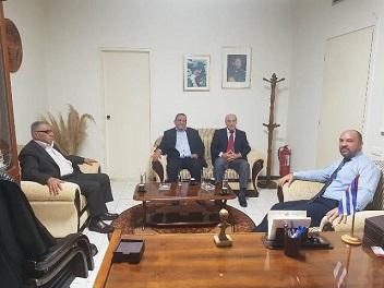 «الديمقراطية » والسفير الكوبي في بيروت يعرضان التطورات العامة والعلاقات الكفاحية