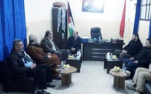 تعزيز العمل الفلسطيني المشترك ضمانة في تعزيز الامن و الاستقرار للمخيمات