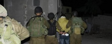 جيش الاحتلال يعتقل (3) مواطنين بالضفة الغربية