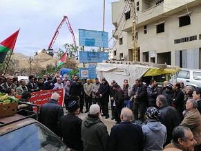 اعتصام جماهيري غاضب وحاشد لاتحاد لجان حق العودة في البارد لمطالبة الانروا بخطة اغاثة شاملة للاجئين في لبنان