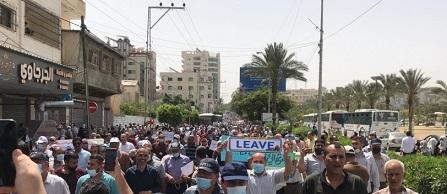 خلف يدعو خلال مسيرة بغزة لإقالة «ماتياس شمالي» لإساءته للشعب الفلسطيني
