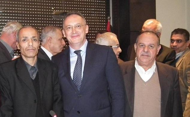 حفل تكريم للسفير الروسي لدى سوريا السيد الكسندر كينشاك
