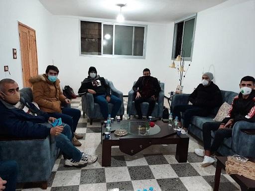 تشكيل هيئة أهلية صحية في حي الزيب بمخيم عين الحلوة