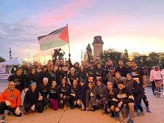 عداؤون فلسطينيون يشاركون بتميّز في ماراثون شيكاغو الدولي