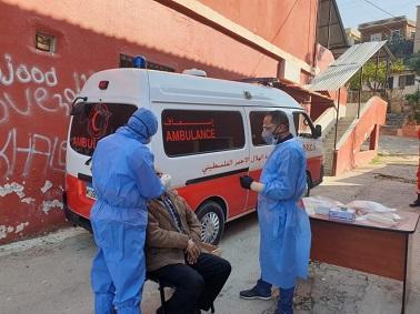 مستشفى الهمشري يجري فحوصات