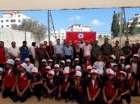 بمشاركة 100 شبل وشاب : اتحاد الشباب الديمقراطي الفلسطيني يفتتح