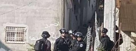 قوات الاحتلال تمنع فعالية منددة صفقة ترامب في شعفاط