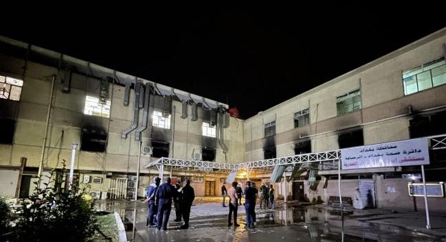 الخارجية: 3 شهيدات فلسطينيات في حريق مستشفى ابن الخطيب في بغداد