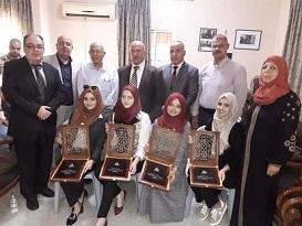 4 طالبات من غزة يحصدن جائزةً هندسيةً على مستوى فلسطين
