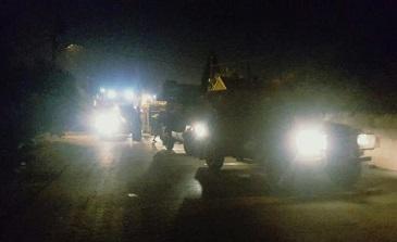 اعتقالات واقتحامات بالضفة الغربية.. وإصابة شاب باندلاع مواجهات شرق نابلس