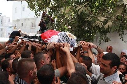استشهاد عنصرين من جيش التحرير الفلسطيني  إثر المعارك في غوطة دمشق