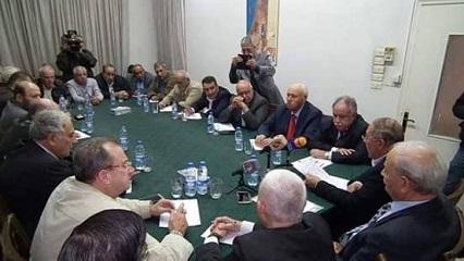 مقر اللجنة الشعبية العربية السورية لدعم الشعب الفلسطيني ومقاومة المشروع الصهيوني