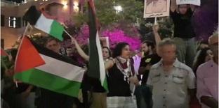 فلسطينيون يحيون ذكرى مجزرة