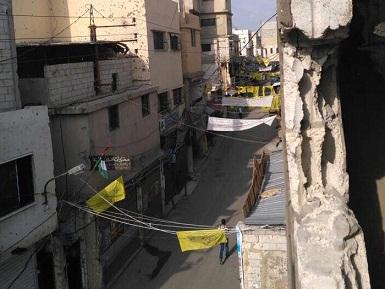 انخفاض ملحوظ في عدد الأسر الفلسطينية المهجرة من سورية في مخيّم عين الحلوة