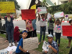 فلسطينيو سورية في تايلند يجددون مناشداتهم لحل قضيتهم