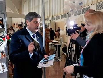 فلسطين تشارك بمعرض الكتاب الدولي في بيلاروسيا