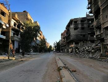 عودة أهالي مخيم اليرموك مرهونة بانتهاء اللجان الفنية من توصيف واقع المساكن