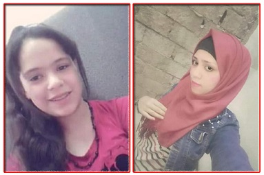 فقدان فتاتين فلسطينيين من أبناء مخيم السبينة
