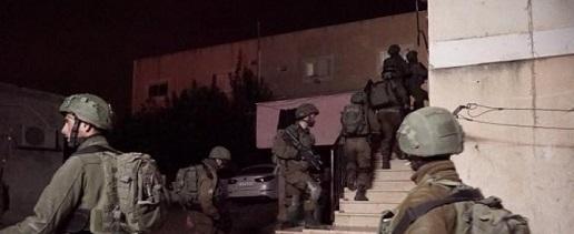 جيش الاحتلال يعتقل (12) فلسطينياً بأنحاء متفرقة من الضفة الغربية