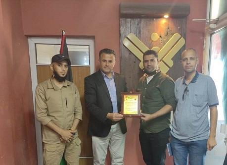 المكتب الصحفي لـ«الديمقراطية» يزور «قناة المنار» بغزة مهنئاً بالذكرى الثلاثين لتأسيسها