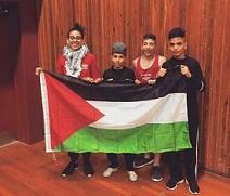 زينة ابنة الثلاثة عشرة.. أول ملاكمة فلسطينية انتزعت الرياضة من قالبها الذكوري