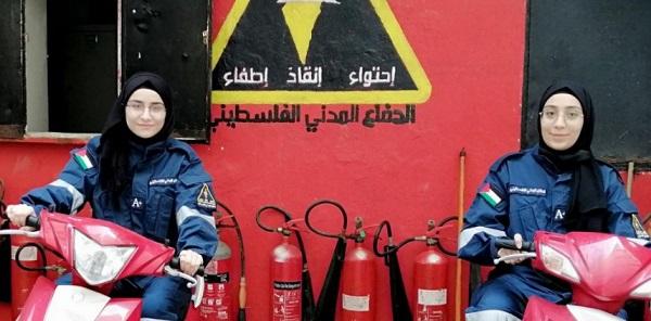 مخيم برج البراجنة: نشاط متجدد للدفاع المدني