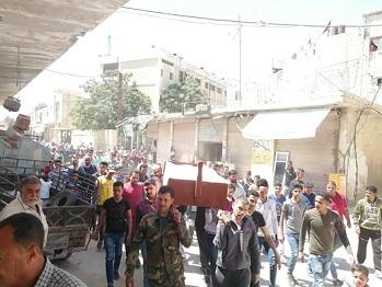 انفجار لغم بريف دمشق يودي بحياة طفلين فلسطينيين