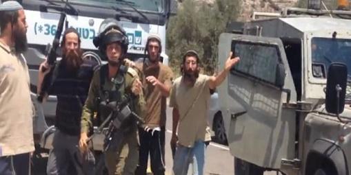 رام الله: إصابة ثلاثة مواطنين إثر اعتداء المستوطنين عليهم
