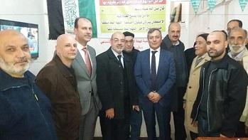رابطة الفلسطينيين المهجرين من سوريا إلى لبنان تلتقي المدير العام للأونروا في لبنان