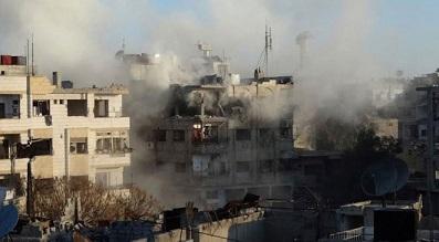 استشهاد سبعة لاجئين إثر العمليات العسكرية في مخيّم اليرموك