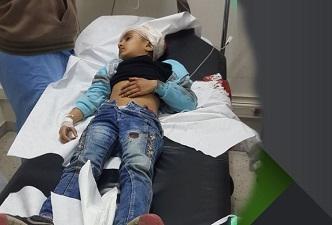 إصابة طفلة فلسطينية بمخيم البداوي برصاصة منفلتة