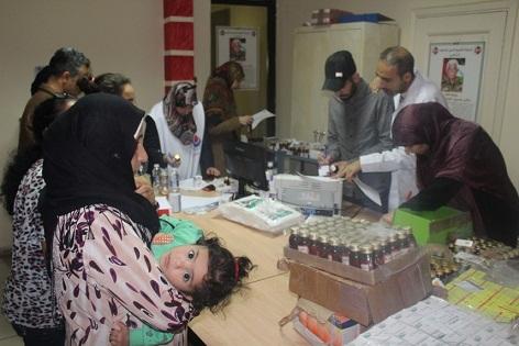 يوم صحي مجاني للأطباء الإيرانيين في المخيمات الفلسطينية